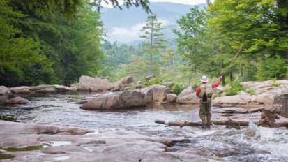 Fishing in the White Mountains