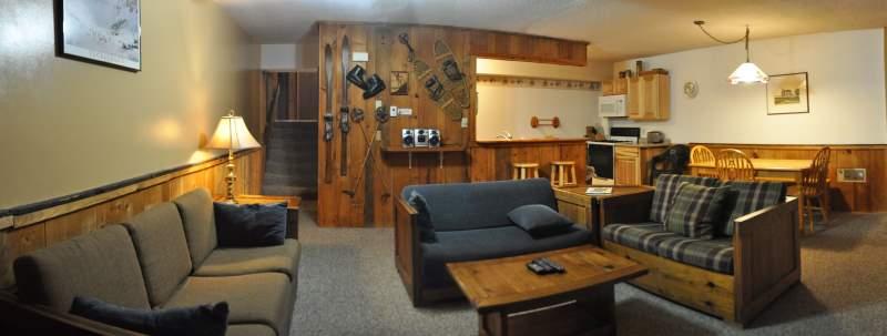 2 bedroom slopeside condo