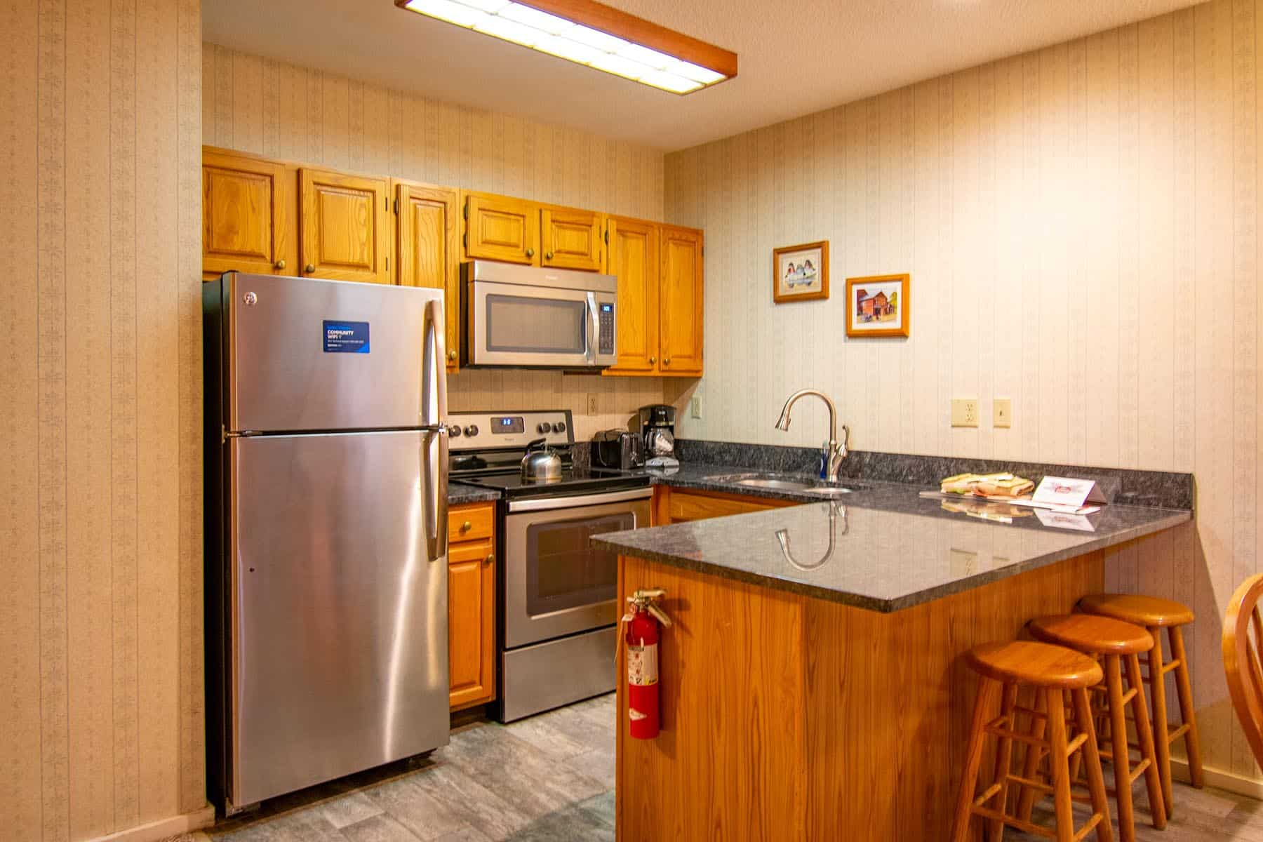Standard Kitchen Area
