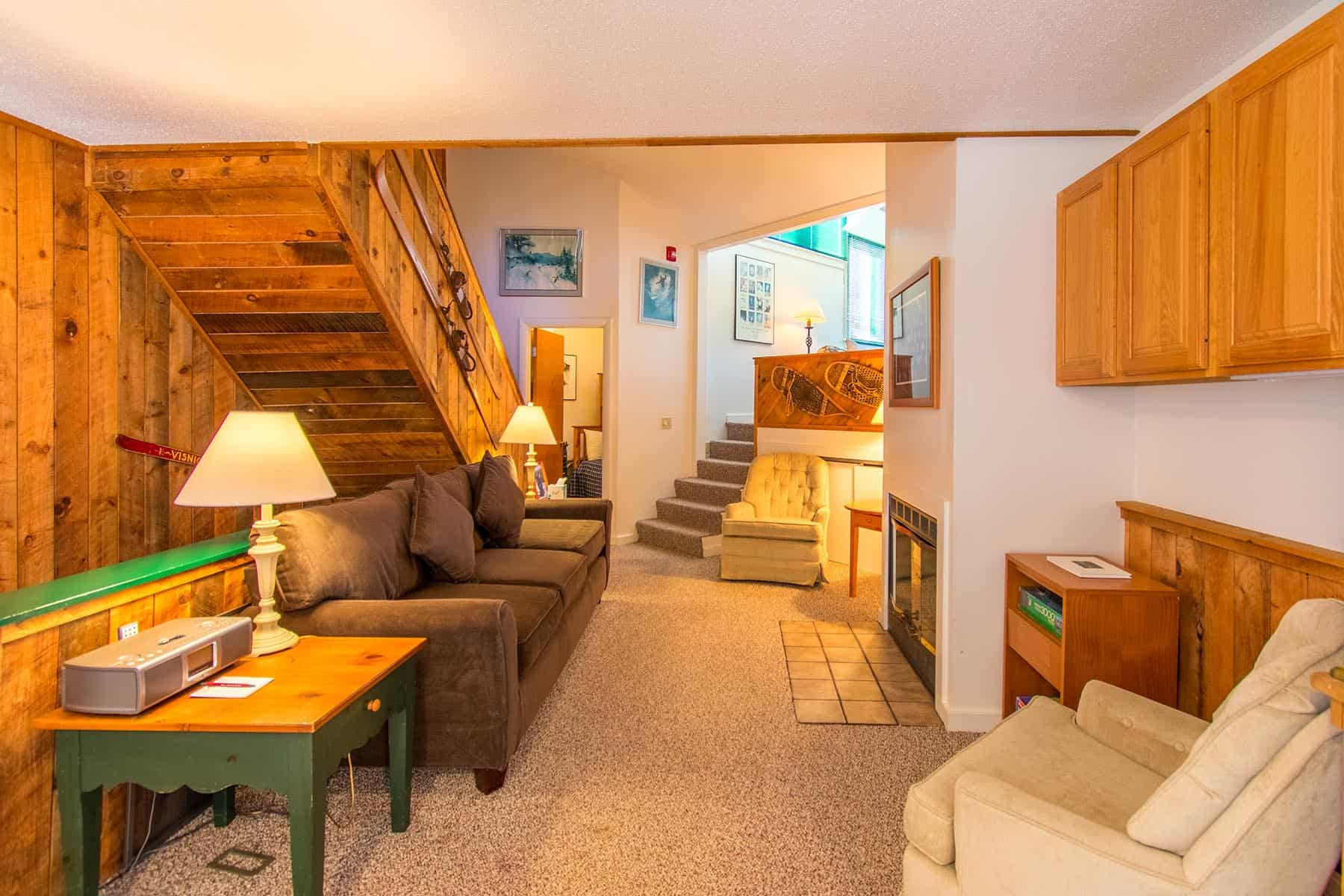 3 bedroom slopeside