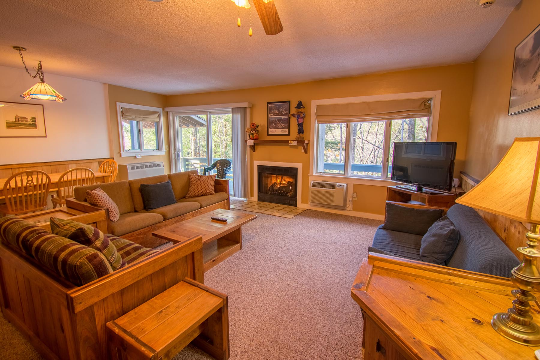 2 bedroom slopeside