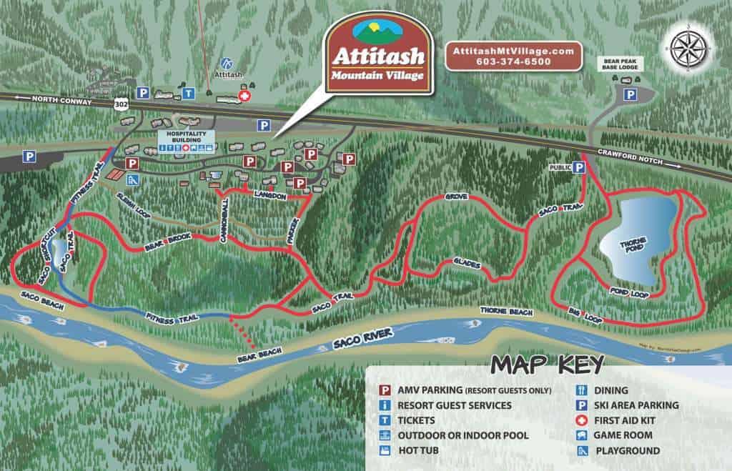 Summer Trail Map