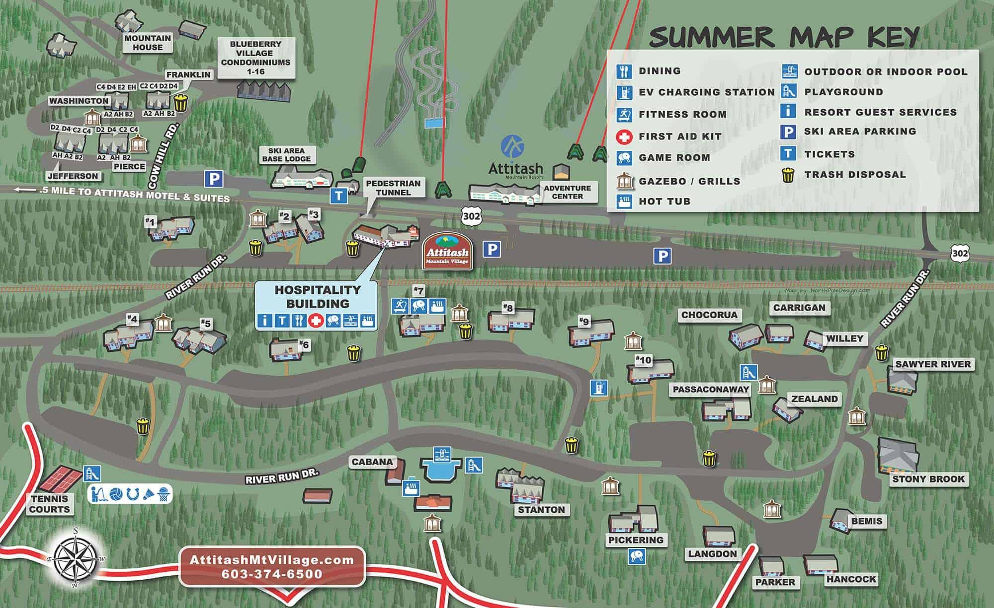 Summer Map