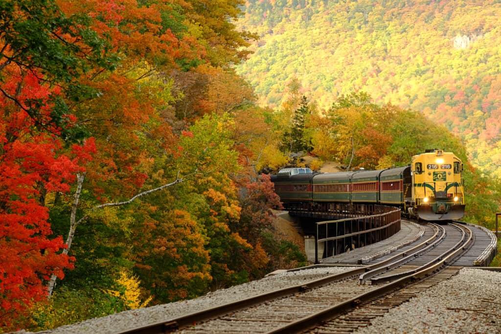 Conway Scenic Railroad Mountaineer Train